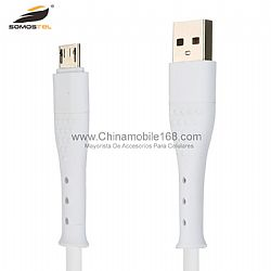 Durable TPE high swing 2.4A  data usb cable