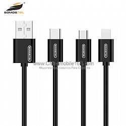 Cheap Price SMS-BP02 3.1A Fast Charging Data USB Cable
