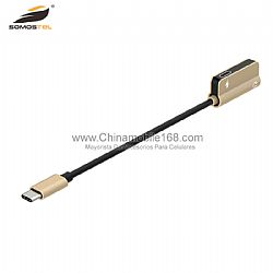 3.5mm audio jack+ type c charge headphon adaptere