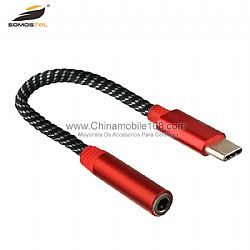 WHOLESALE HEADSET ADAPTER TYPE C TO 3.5MM TO LISTEN TO MUSIC