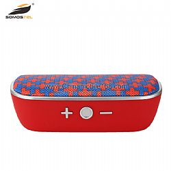 Mini bluetooth speaker with fabric design support TF card,AUX