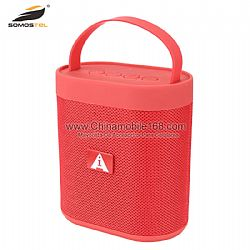 Red color outdoor bluetooth speaker support USB disk,AUX