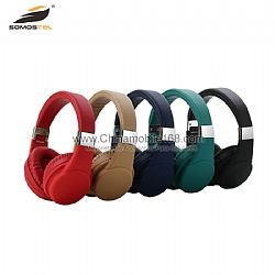 Good sound performance wireless headphones with comfortable earmuffs