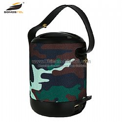 Wholesale camouflage portable bluetooth speaker with clear voice