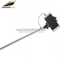 Mirror Wire Control Self-timer Selfie Stick Wholesale