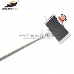 Mini Cartoon Wire Control Selfie Stick Wholesale