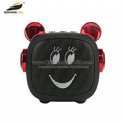 Popular electroplating cute cartoon speaker for Party/ Camping