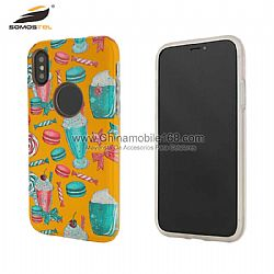 Waterproof full UV 3D epoxy diamond pattern protector case