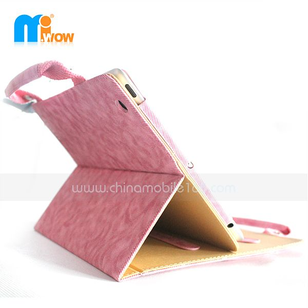 New handbag leather case for iPad