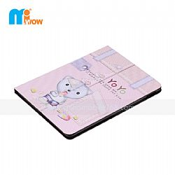 carton patterns tablet flip cover for iPad2 3 4