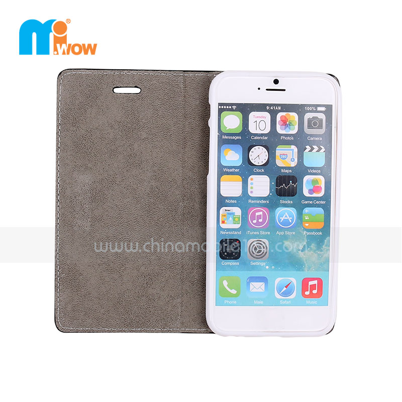 Flip PU Leather Magnetic Case for Iphone 6