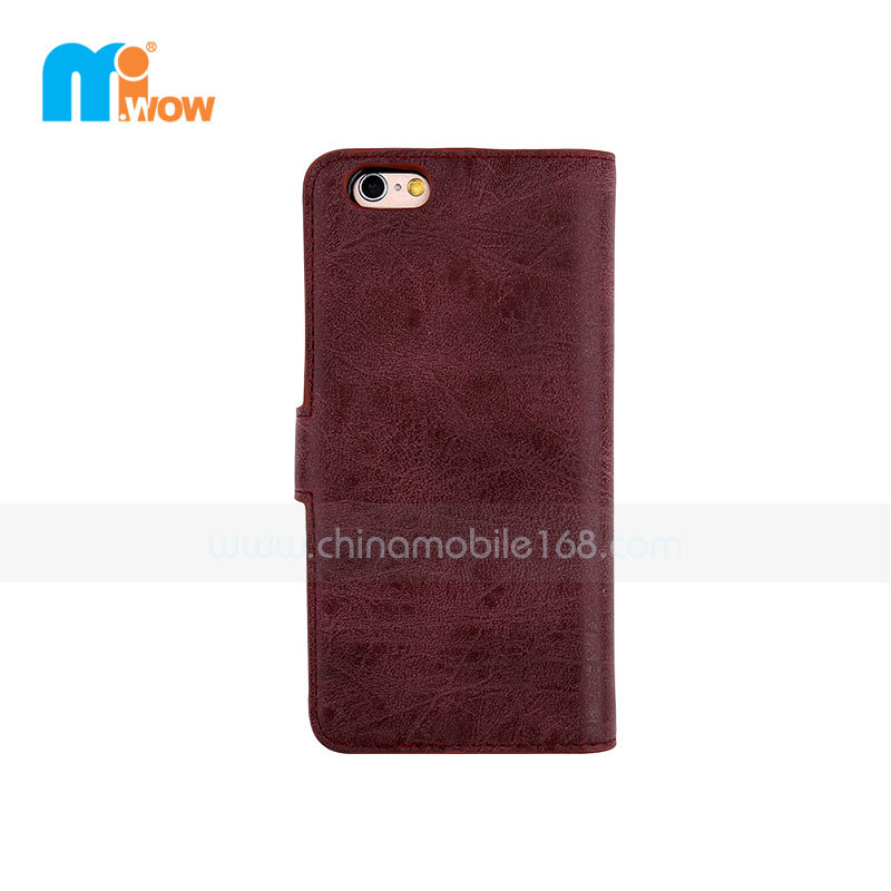 Retro PU Leather Case For Apple Iphone 6