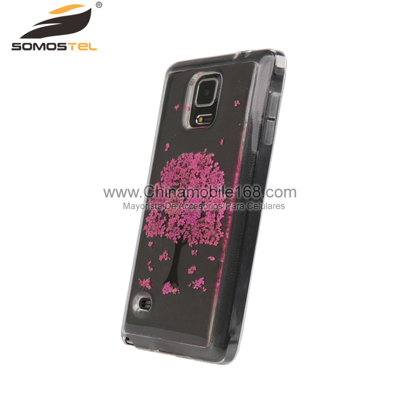 flower press phone case for Samsung