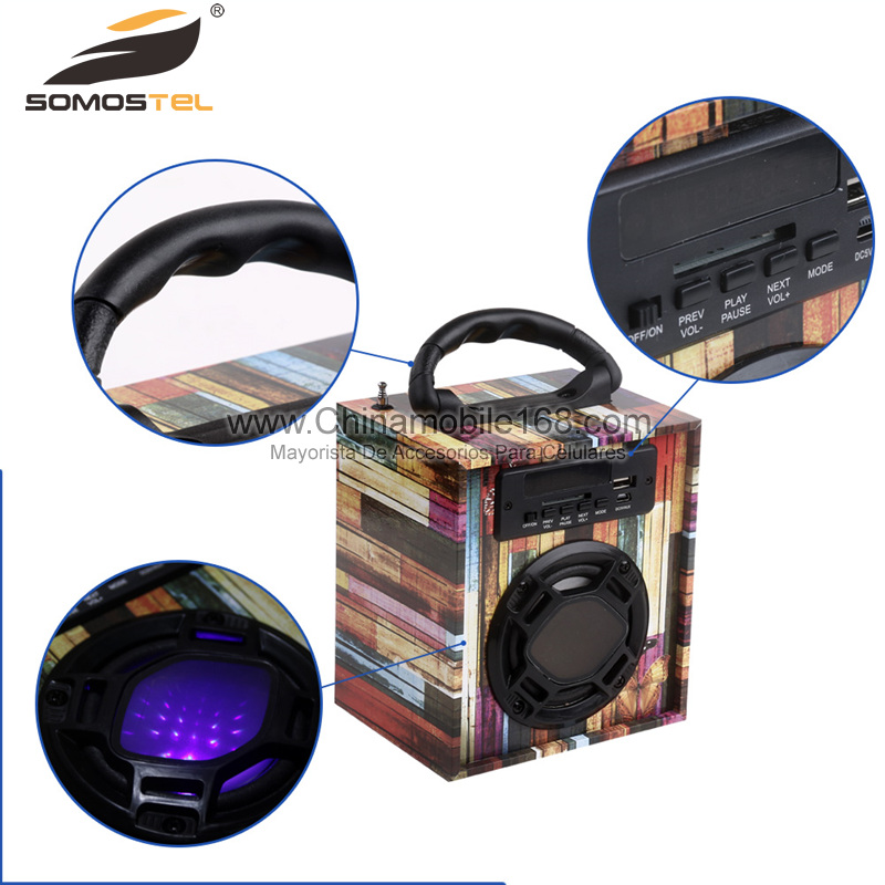 Portable Multifunction Bluetooth Music Player Remote Control  Wireless Speaker