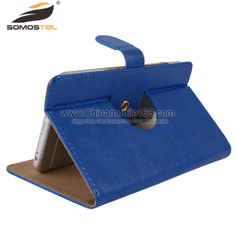 Rotation Stand Universal Leather Case