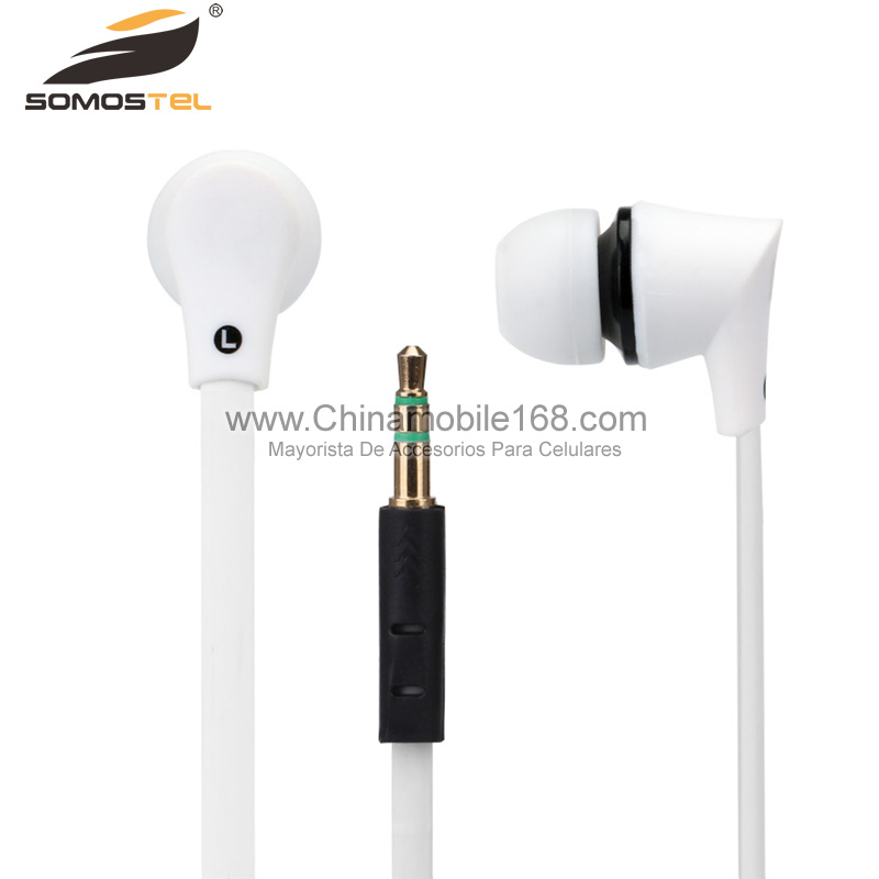 White Earphone